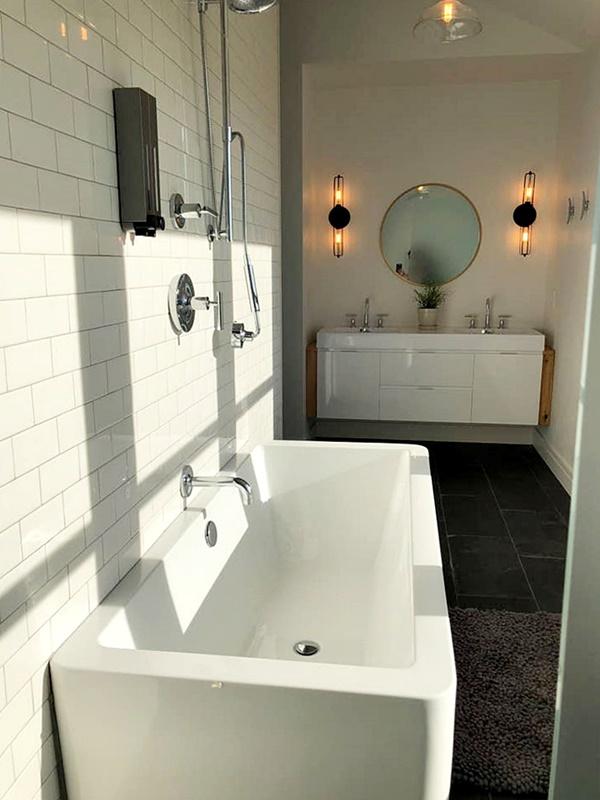 Master Bathroom in Modern Farmhouse