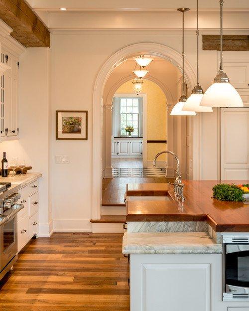 Farmhouse Kitchen with Period Details