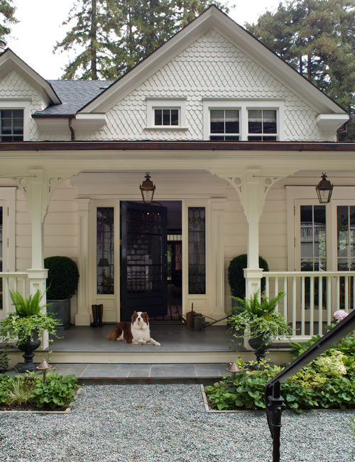 Victorian Porch on White House