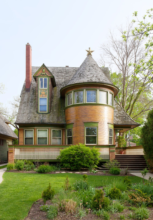 Historic Home with Rounded Turret