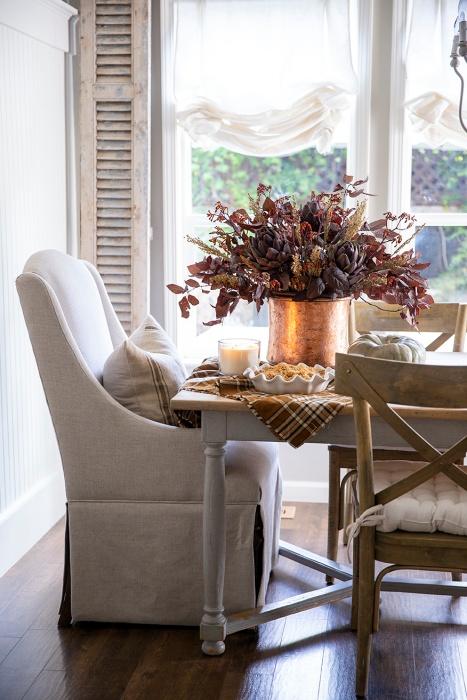 Autumn Tablescape by Ella Claire