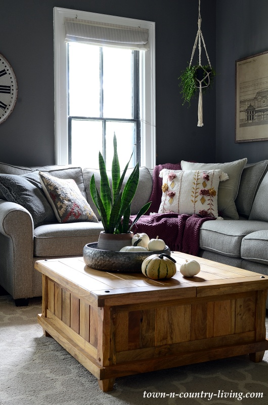 Simple Fall Decor Ideas For The Family Room Town Country Living