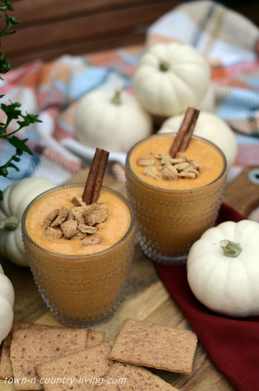 Pumpkin Smoothie Recipe - great way to use leftover pumpkin puree