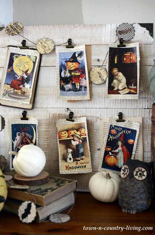 Vintage Halloween Board