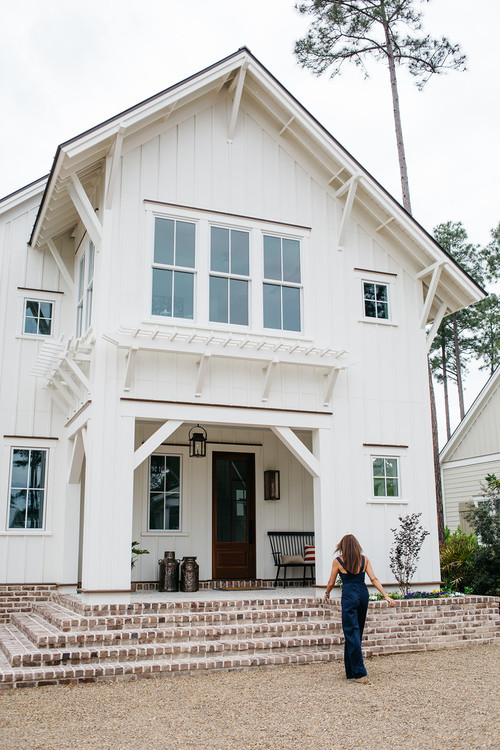 Palmetto Bluff Home Exterior with Farmhouse Influence