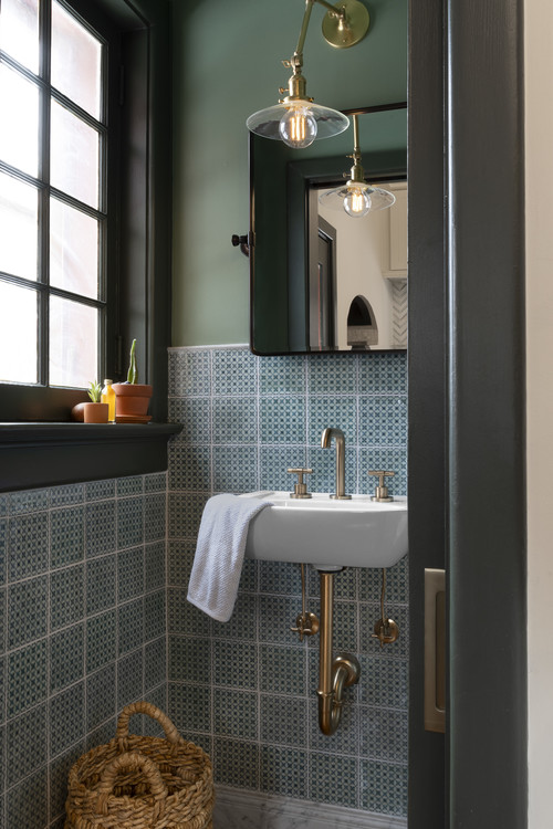 Beautiful bathroom in historic home