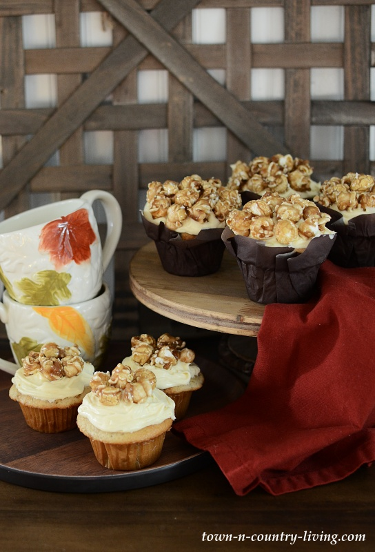 Caramel Corn Cupcake Recipe