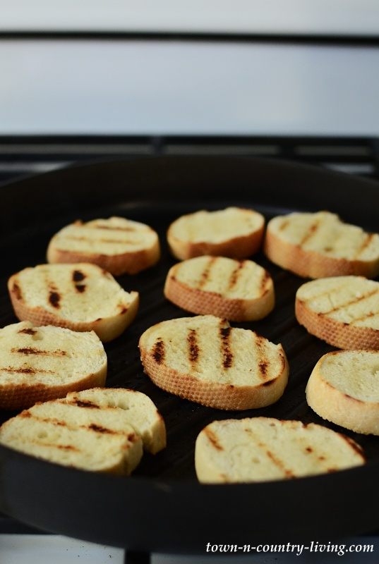 Grilled Bread Crostini