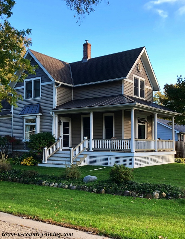 Victorian Cottage with Wrap Around Porch