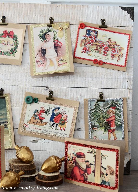Diy Vintage Christmas Cards 23 Free