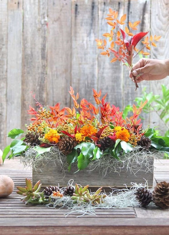 DIY Easy Fall Centerpiece