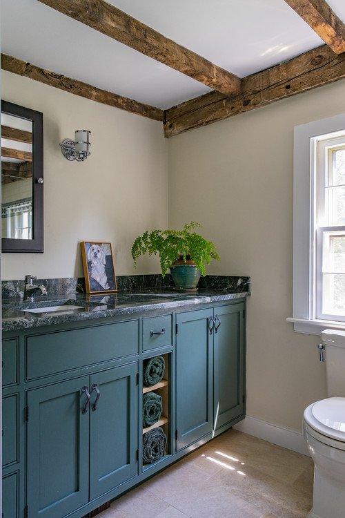 New Bathroom in Historic Farmhouse