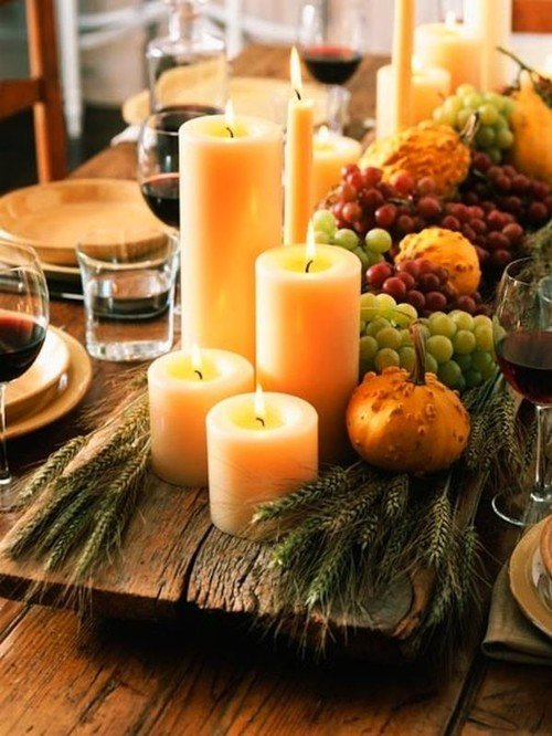 Fall Centerpiece Ideas for Entertaining