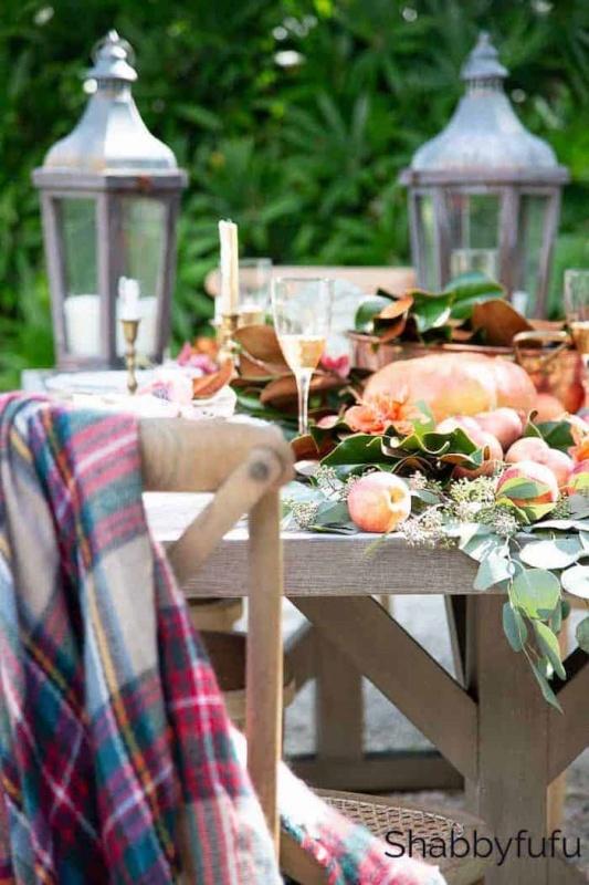 Shabbyfufu Fall Table Setting