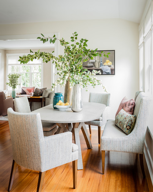 Contemporary Dining in Historic Home