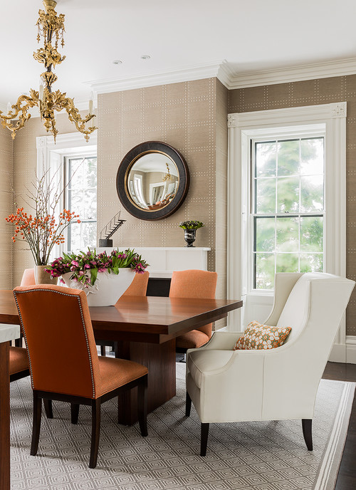 Country Neutral Dining Room