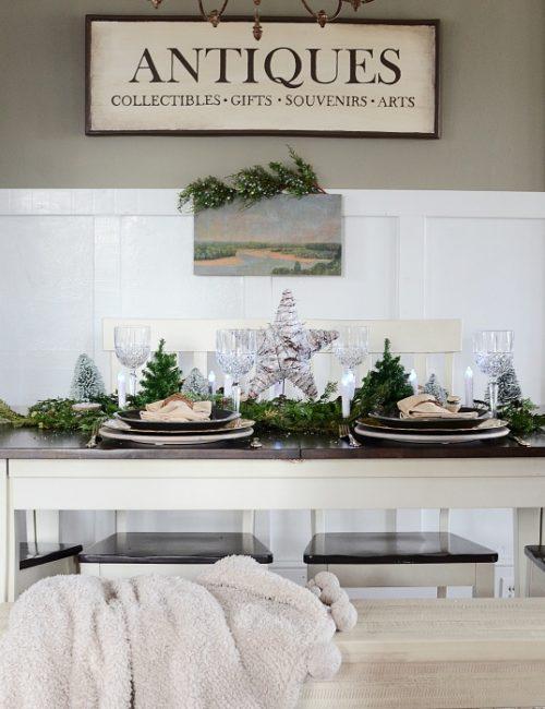 Fuss-Free Christmas Centerpiece