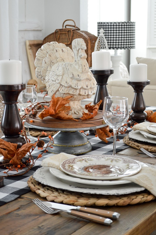 Thanksgiving Table by Fox Hollow Cottage