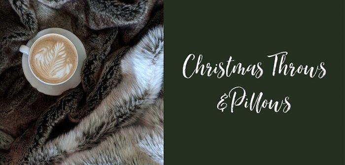 Christmas Pillows and Throws - Holiday Shop at Town and Country Living