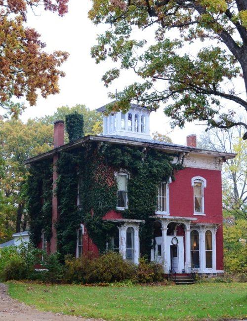 Red Brick Italianate House in Southwest Michigan