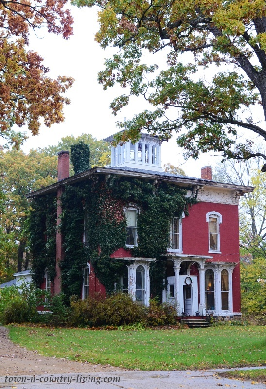 Red Brick Italianate House in Southwest Michigan
