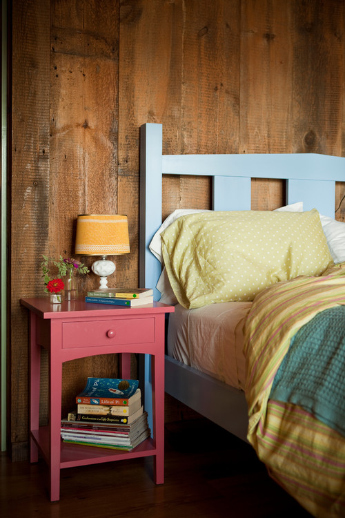 Rustic Bedroom with Painted Furniture