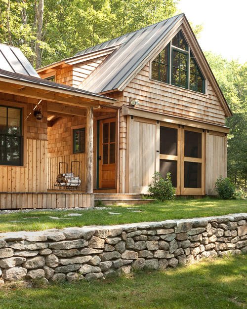 Cabin Living at Panther Pond in Maine