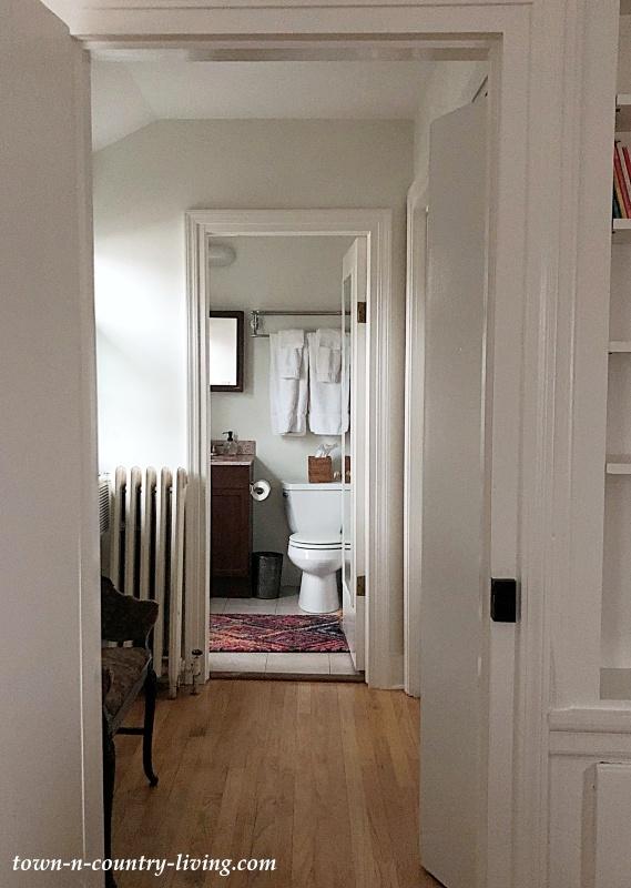 Hall Leading to Bathroom