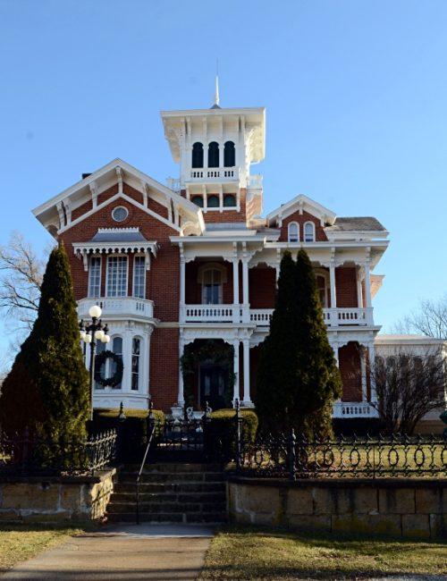 Belvedere Mansion in Galena