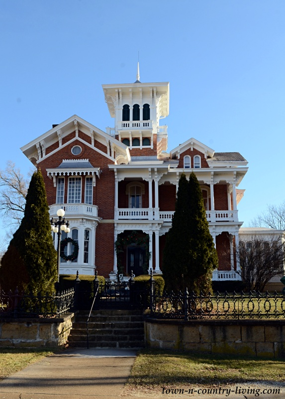 Belvedere Mansion in Galena