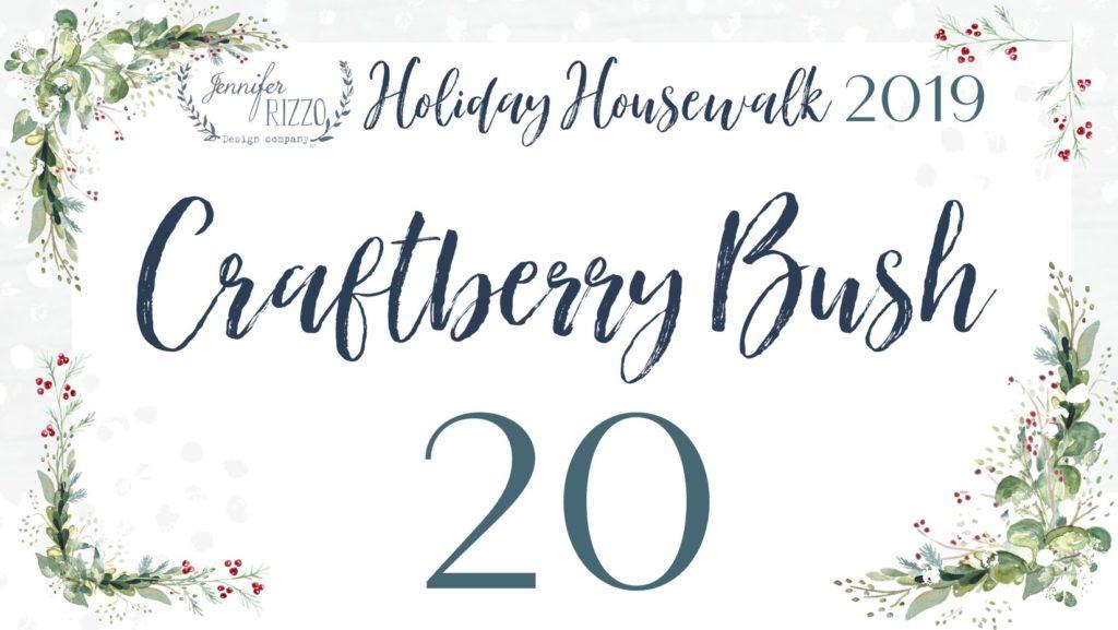 Craftberry Bush Holiday Housewalk Tour
