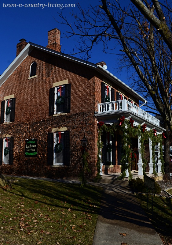 Brick Bed and Breakfast Home in Galena