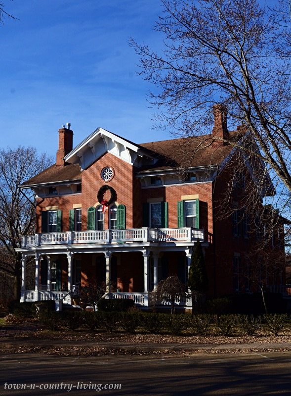 Historic Brick Victorian Home in Galena