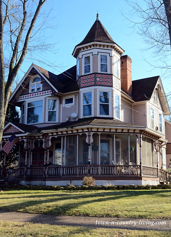 Grand Old Victorian Home with Turret and Wrap Around Porch
