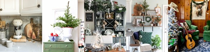 Seasonal Simplicity Christmas Home Tours 2019