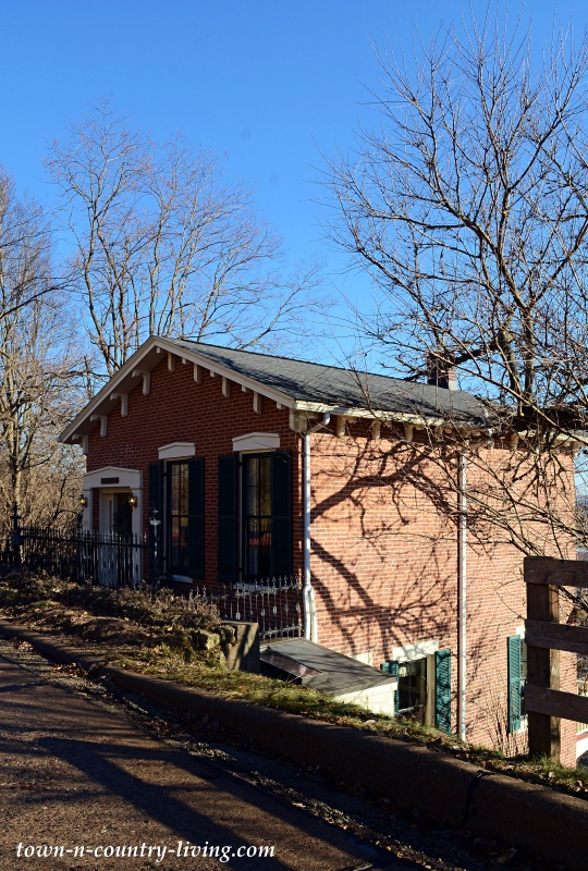 Hillside Brick Home in Galena
