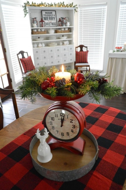 Vintage Christmas Kitchen
