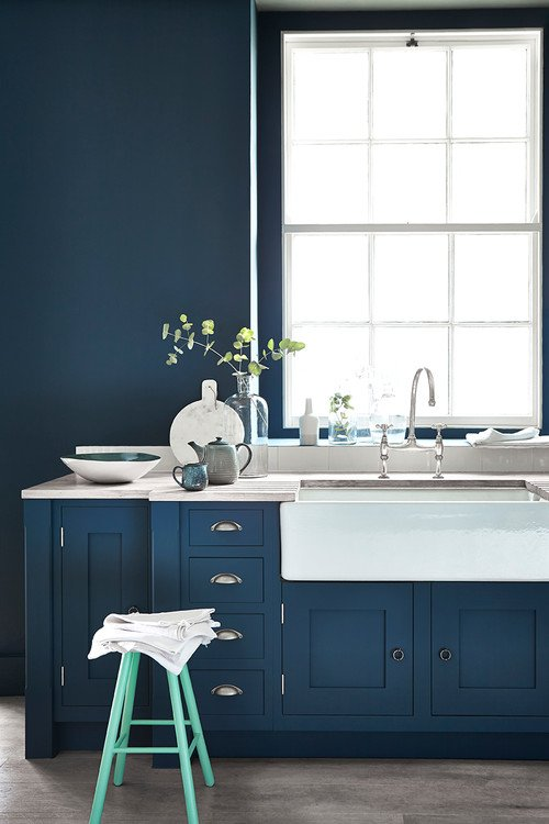Classic Blue - Pantone Color of the Year in a Kitchen