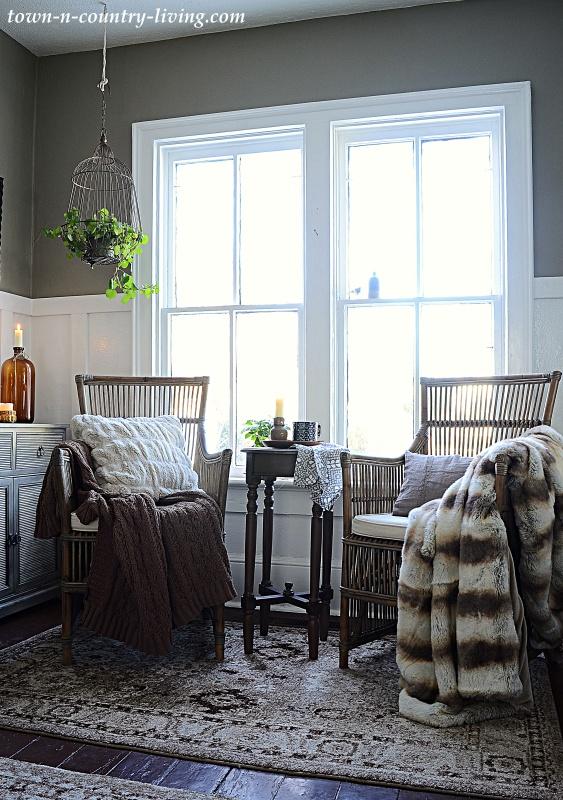 Cozy Entryway in Historic Home