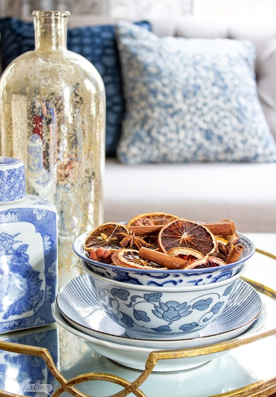 DIY Dried Orange Potpourri