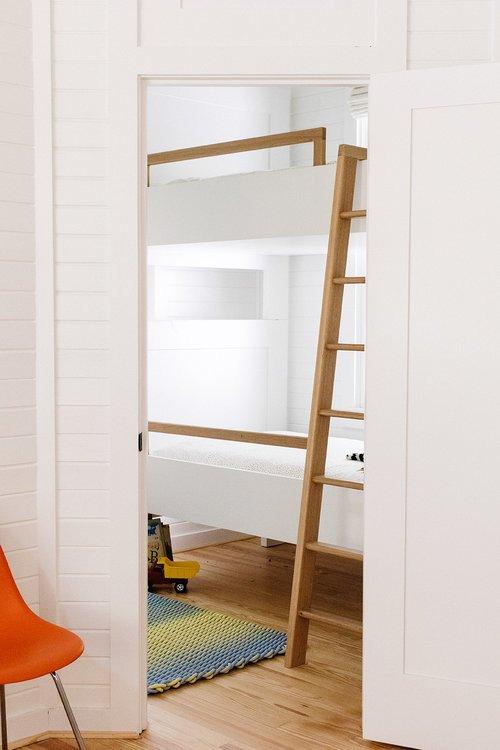 Bunk Bed in Kids Cottage Bedroom