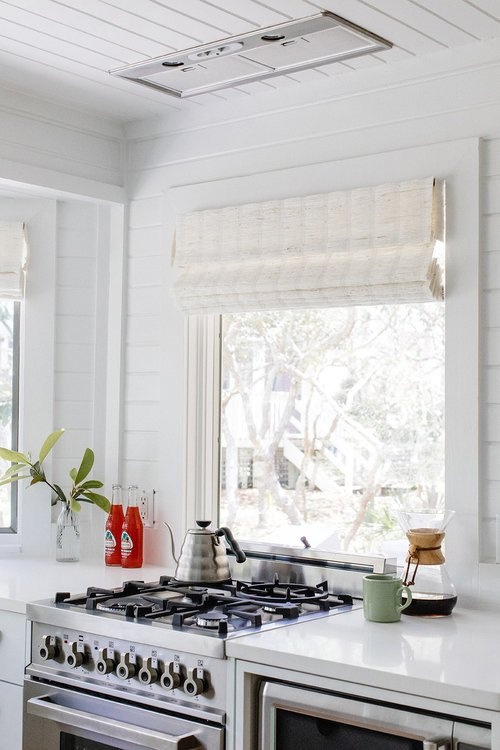Small White Kitchen with Loads of Cottage Charm