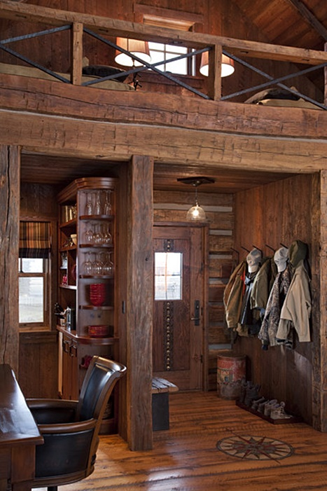 Entryway to Cozy Cabin Retreat