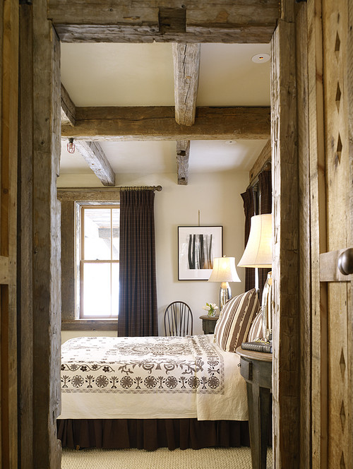 Rustic Neutral Country Style Bedroom