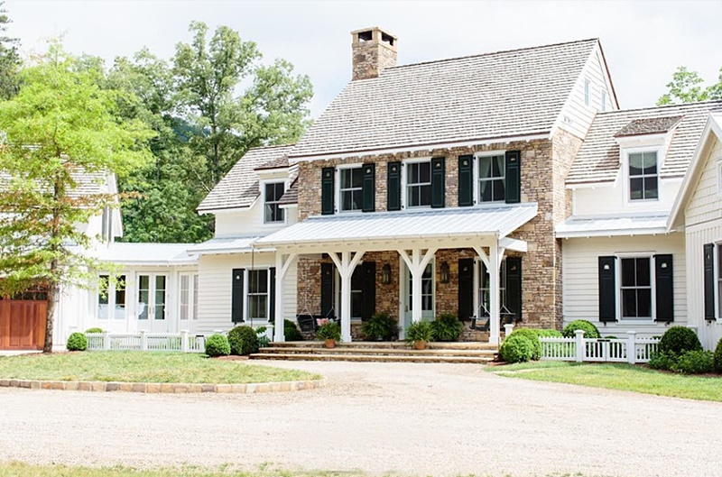 Large Country Farmhouse