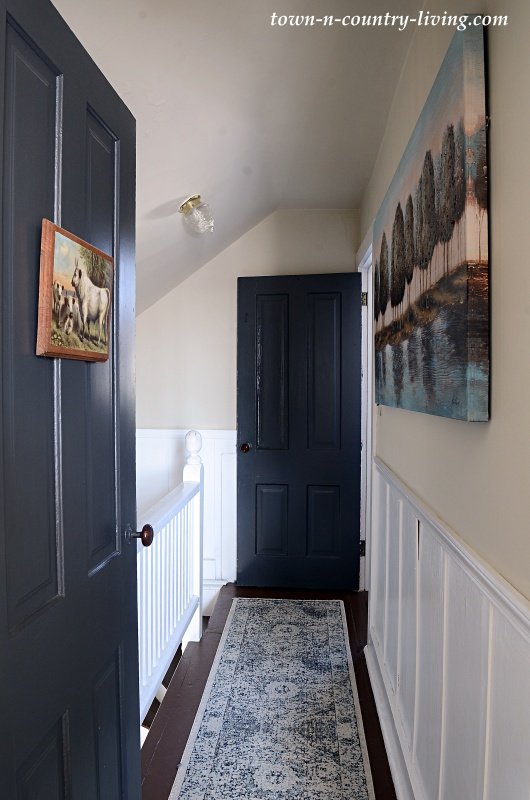 Upstairs Farmhouse Hallway