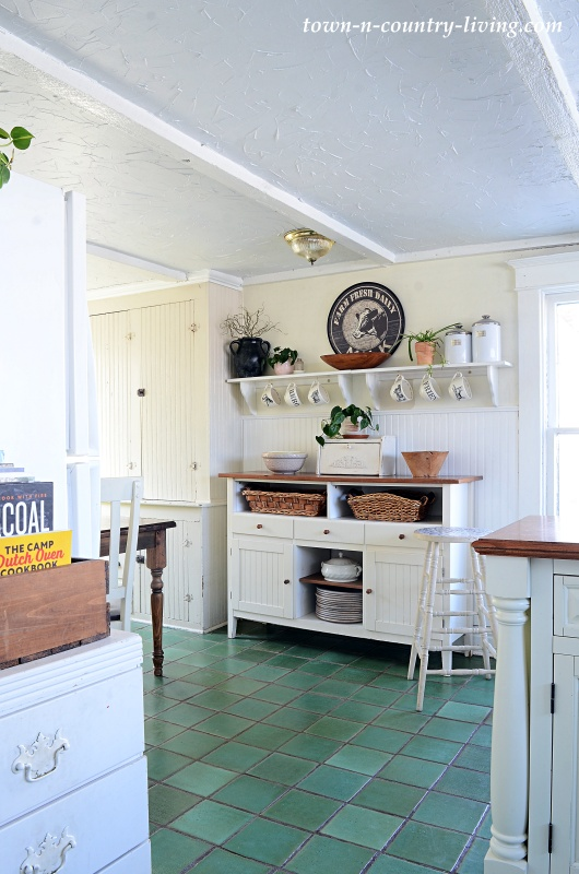 Country Kitchen in a Farmhouse