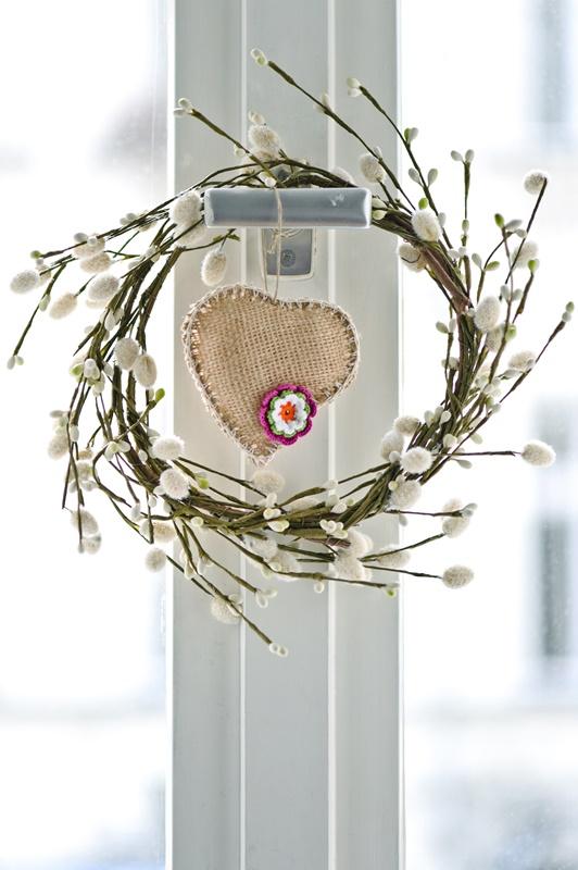 Scandinavian Style Spring Wreath