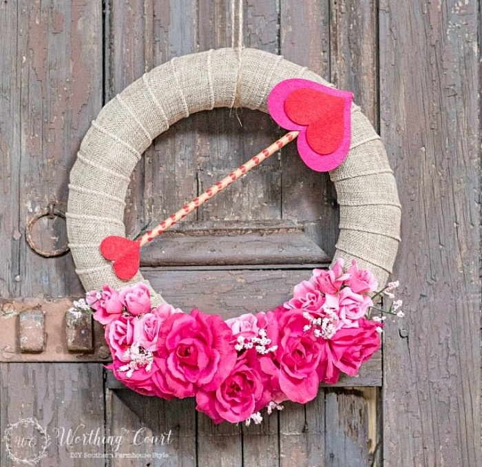 Valentine Wreath by Worthing Court