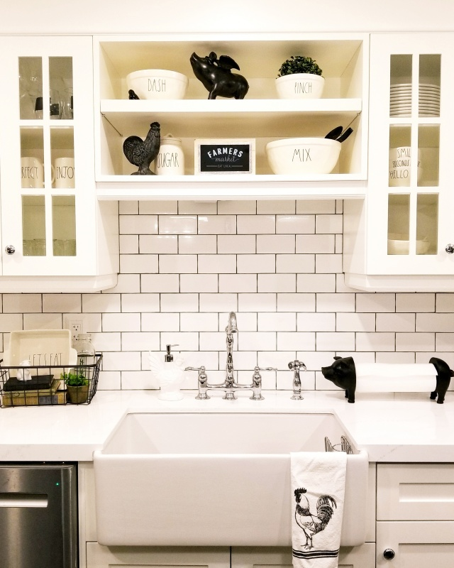 Farmhouse Animal Kitchen Details